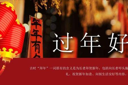 春节过年的文化风俗PPT模板