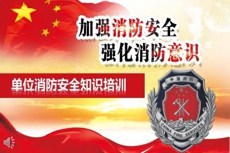 消防日消防安全知识培训PPT课件