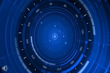 大数据科技特效动画PPT模板