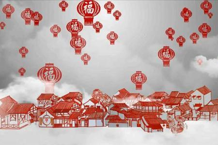 中国风十二生肖传统文化PPT模板