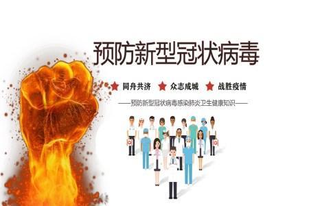 预防新型冠状病毒感染肺炎卫生健康知识ppt课件