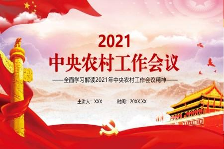 学习2021年中央农村工作会议精神PPT