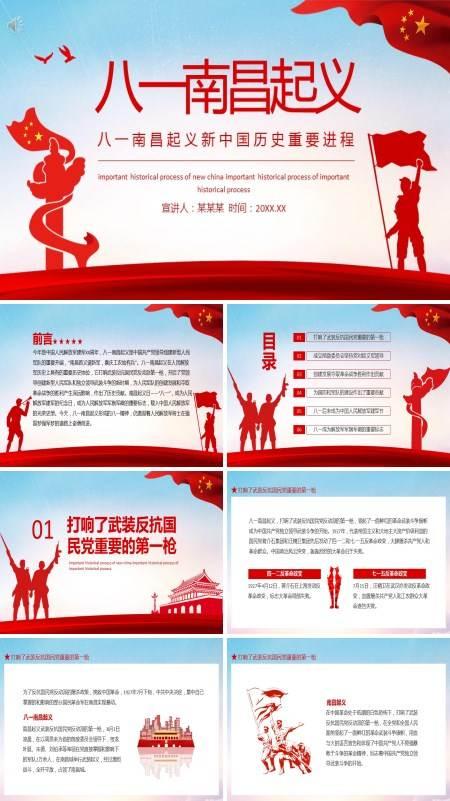 八一南昌起义的历史意义PPT