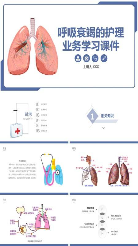 呼吸衰竭病人的护理ppt课件
