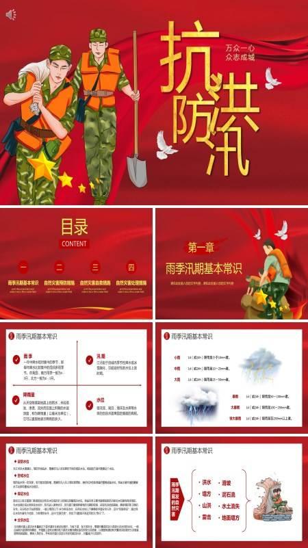 防洪防汛的措施和方法PPT