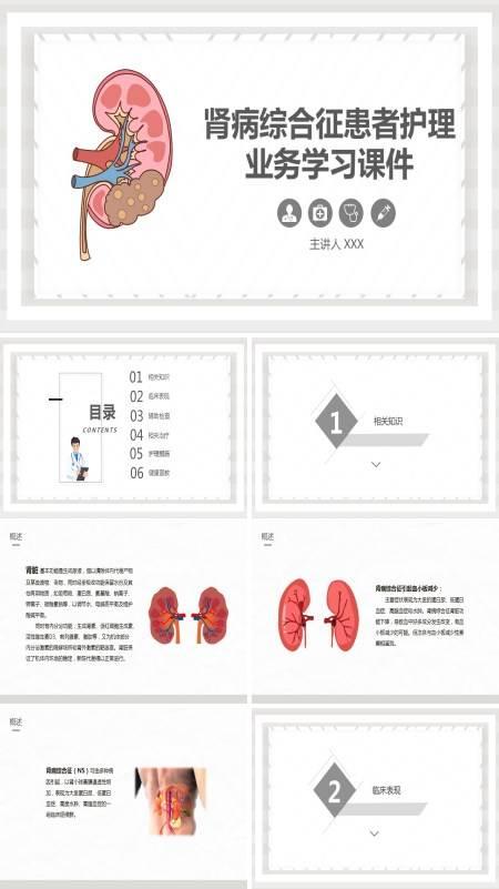 肾病综合征的护理常规ppt
